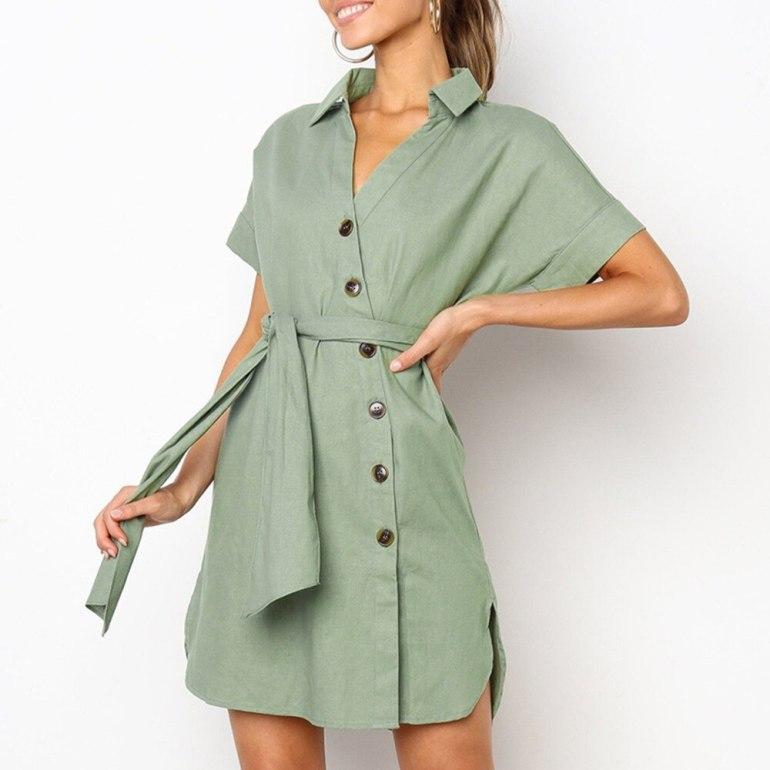 Модные однотонные платья для женщин: красивые фото для любого случая