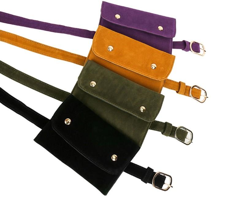 Ультрамодные женские сумки на пояс: разновидности и фото
