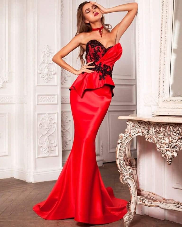 Женские вечерние платья: нарядные и модные образы с фото