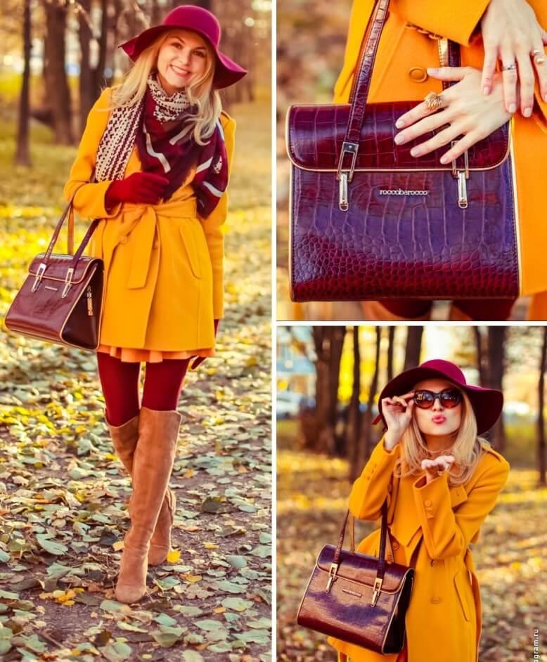 С чем сочетается горчичный цвет в женской одежде и кому идет