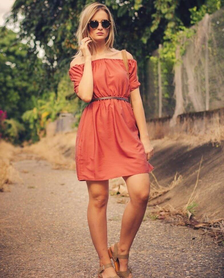 С чем сочетается оранжевый цвет в одежде - фото стильных образов
