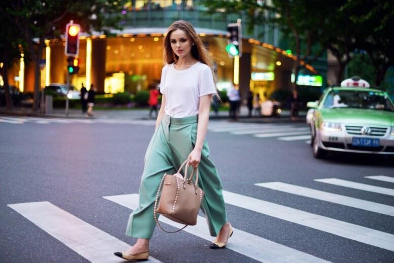 С чем носить и сочетать женские брюки кюлоты - подбираем гармоничные образы