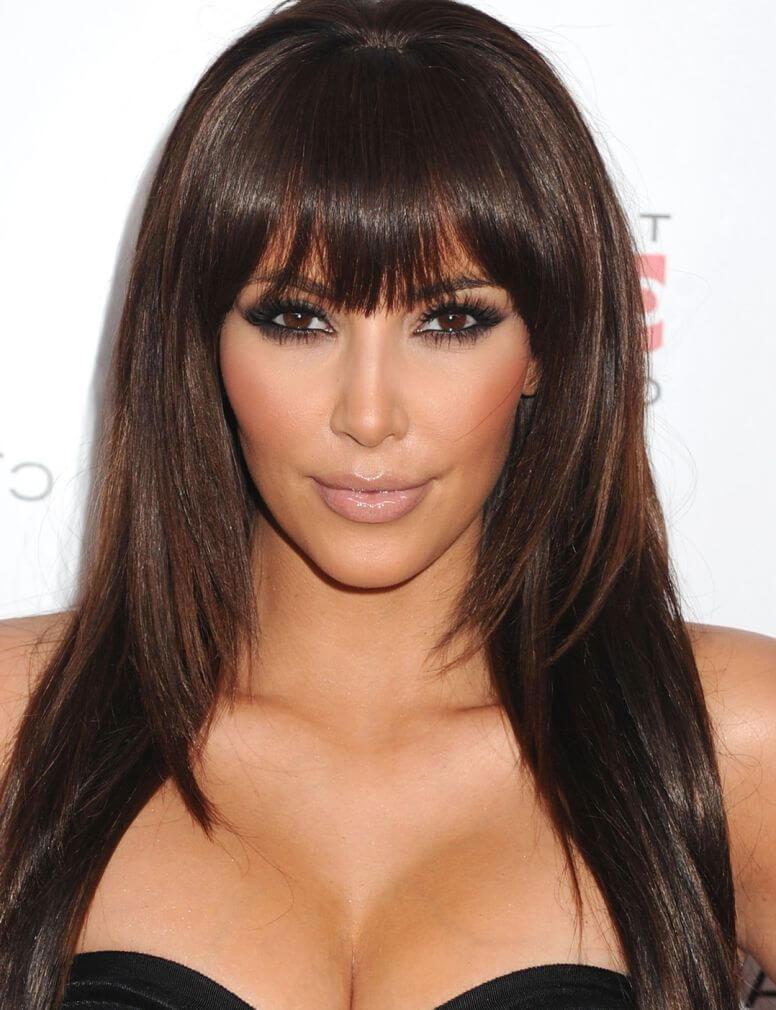 Женские стрижки на длинные волосы 2021 с челкой и без нее