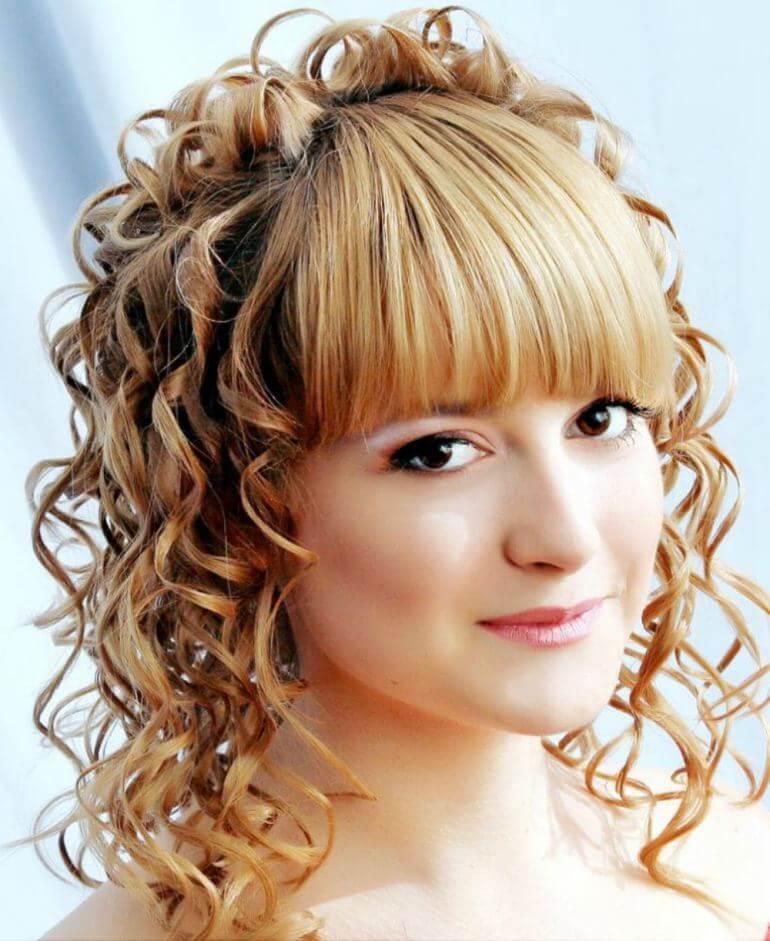 Фото долговременных укладок на средние волосы - разнообразные варианты