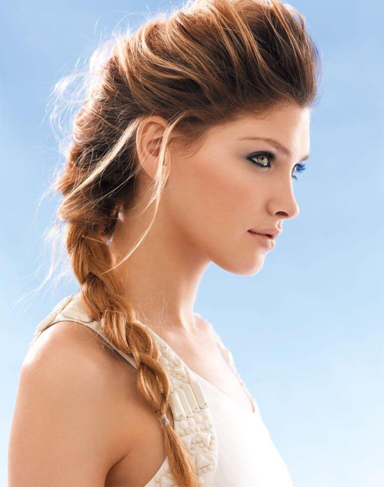 Обзор красивых и легких причесок на разную длину волос: пошаговое видео