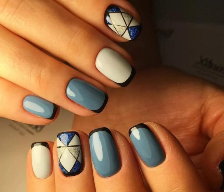 Стильные и красивые идеи маникюра на короткие ногти с фото