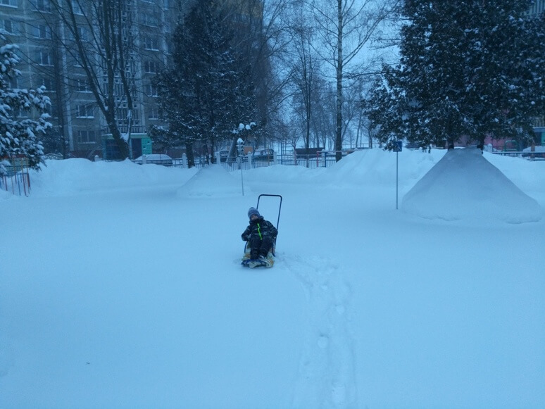 Как бывает красиво в нашем городе зимой