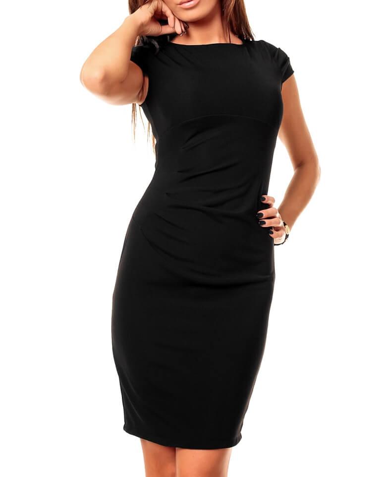 Черное маленькое платье для женщин: фото стильных моделей