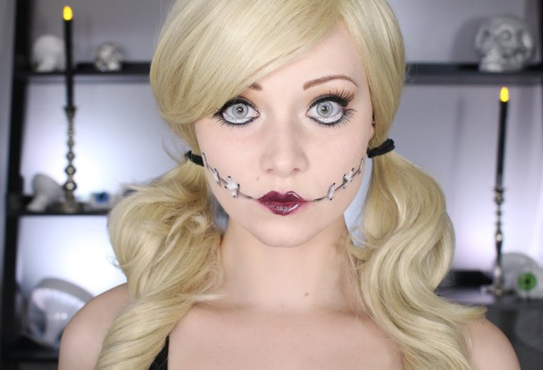 Как сделать красивый или страшный макияж для девушек на Хэллоуин