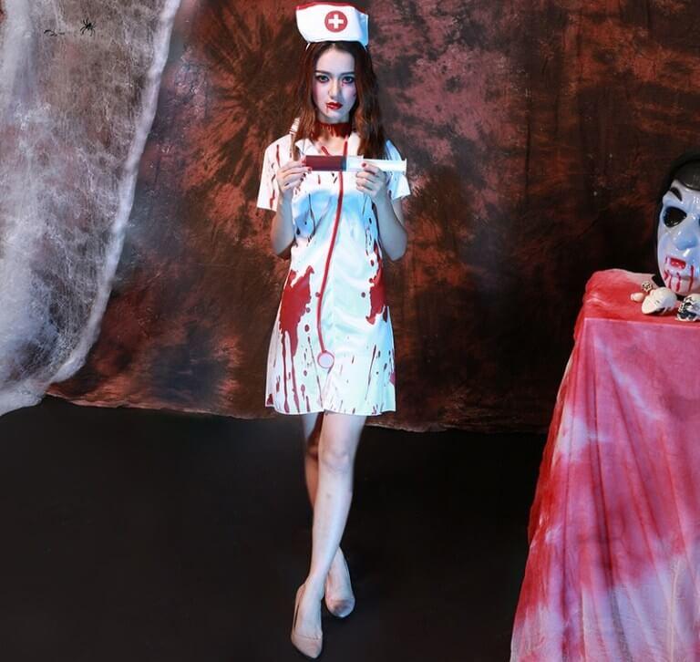 Наряды для девушек на Хэллоуин: фото и видео идеи для создания образов своими руками