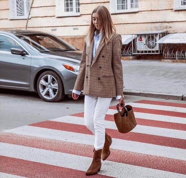 С чем носить женские казаки - фото стильных сочетаний