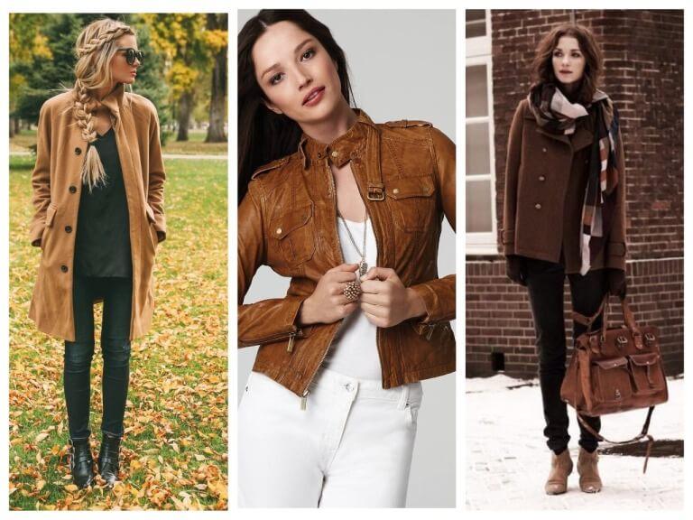 С чем хорошо сочетается коричневый цвет в женской одежде?