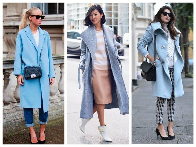С чем носить женское пальто оверсайз - модные луки