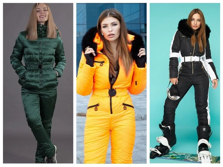 Зимние женские костюмы для прогулок и активного отдыха