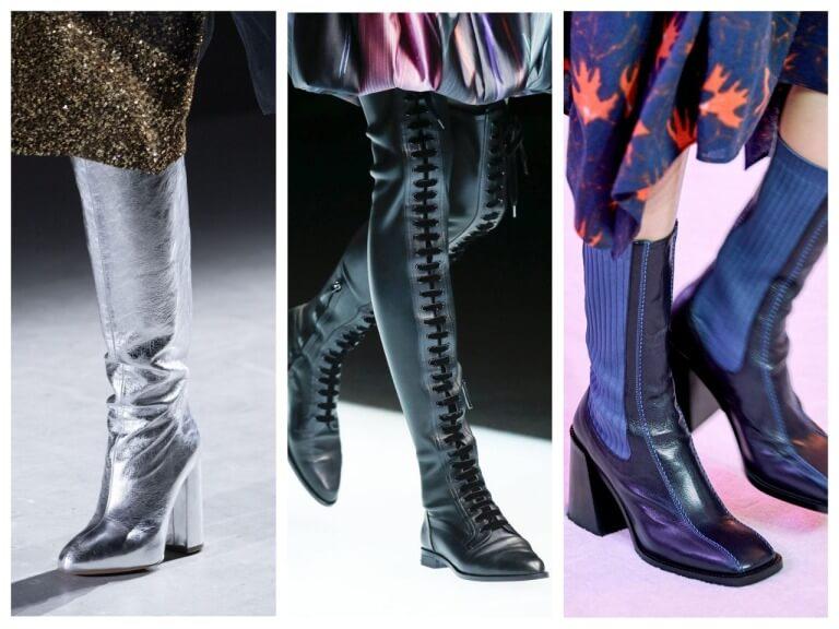 Женские зимние сапоги - фото модных моделей на 2020 год
