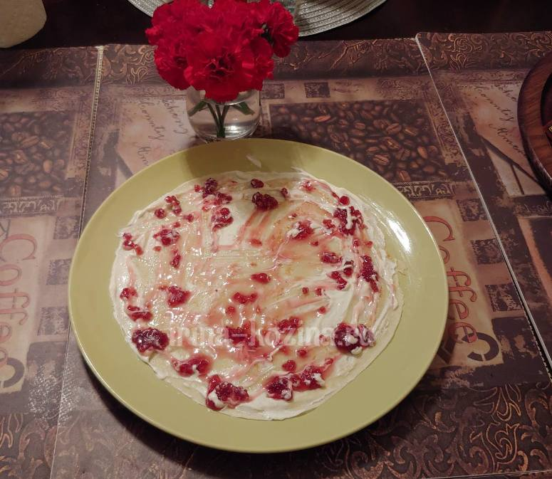 Пошаговый рецепт очень вкусных блинчиков на десерт для всей семьи