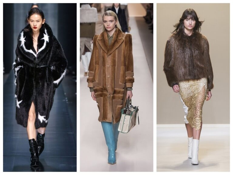 Женские зимние шубы - актуальности и модные модели с фото