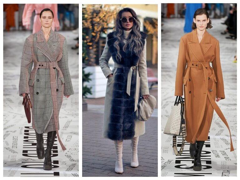 Зимние женские пальто - модные тенденции на 2020 год