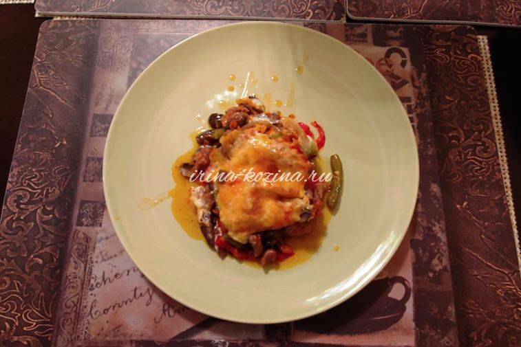 Мясо в горшочке с овощами - очень вкусный пошаговый рецепт