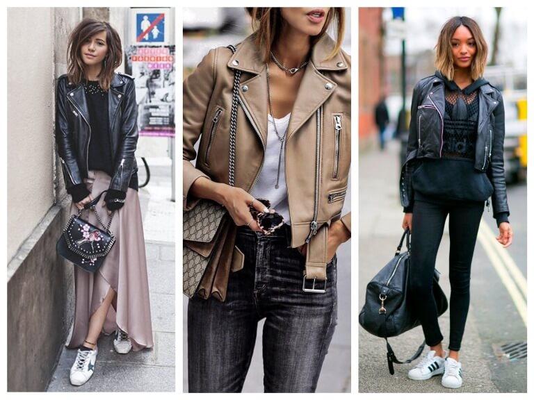 С чем можно носить женскую косуху - фото модных сочетаний