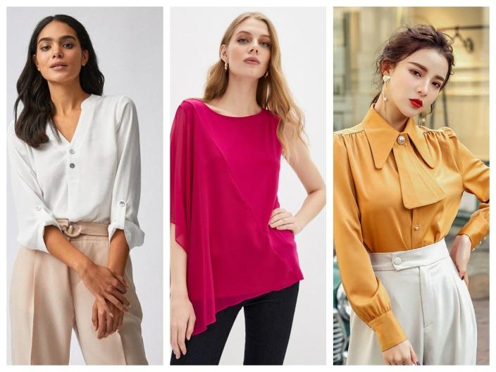 Стильные женские блузки 2021 - красивые новинки