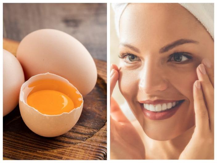 Маска для лица из яйца в домашних условиях от морщин