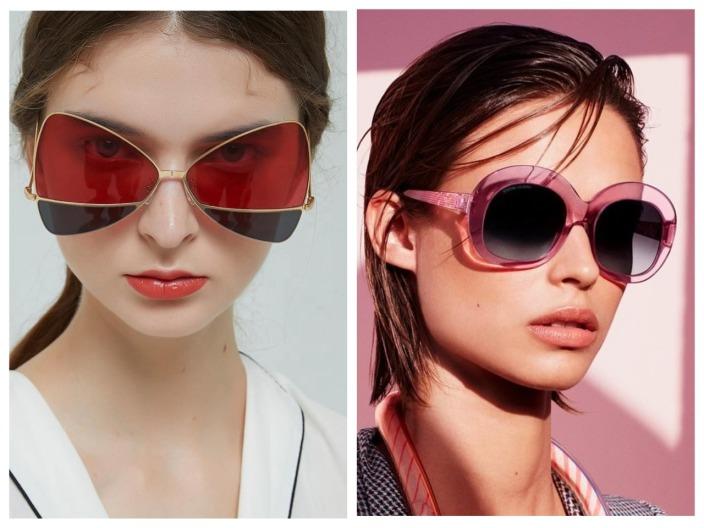 Солнечные женские очки 2021 - модные тренды