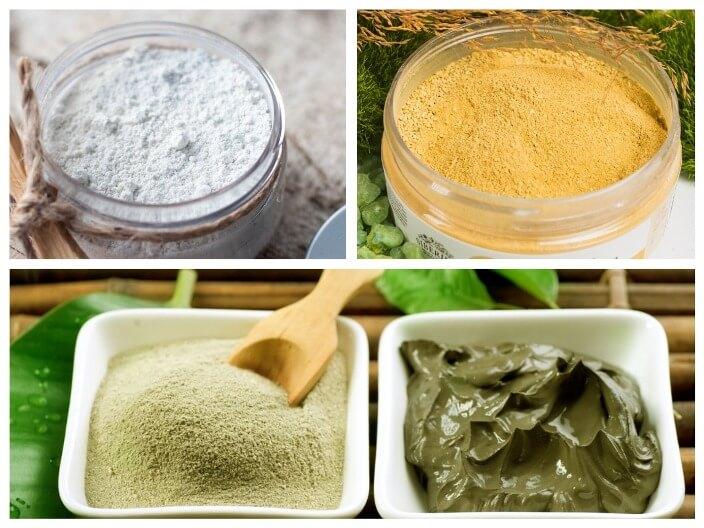 Маска для лица из глины - рецепты в домашних условиях