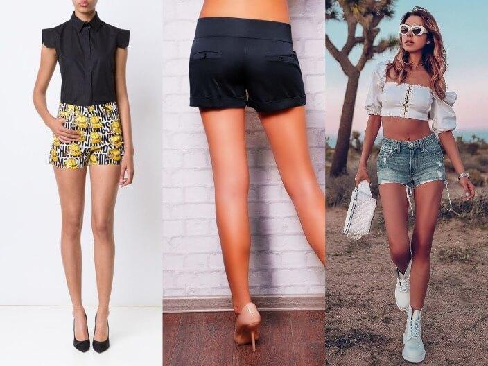 Модные женские шорты 2021 - летние модели