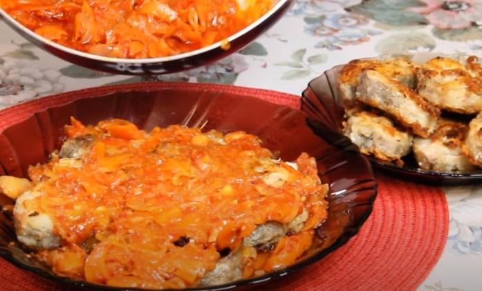 Как пожарить рыбу на сковороде с мукой?