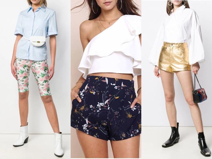 Модные женские шорты 2020 - летние модели