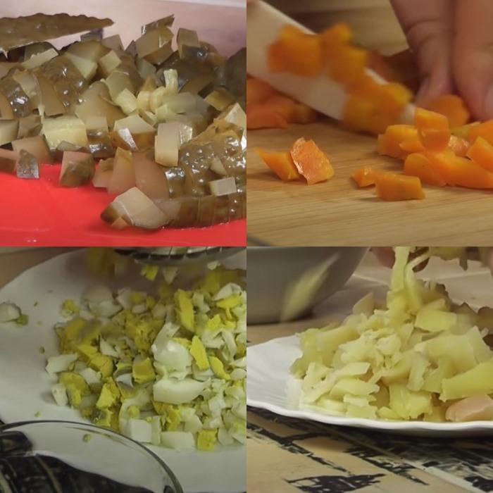 Салаты на Новый 2021 год - простые и вкусные рецепты
