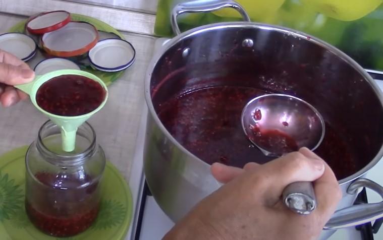 Варенье из малины на зиму - как правильно сварить малиновое варенье