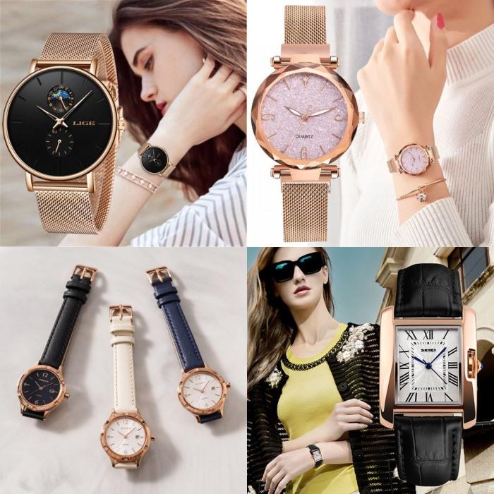 Модные женские наручные часы - популярные бренды с фото