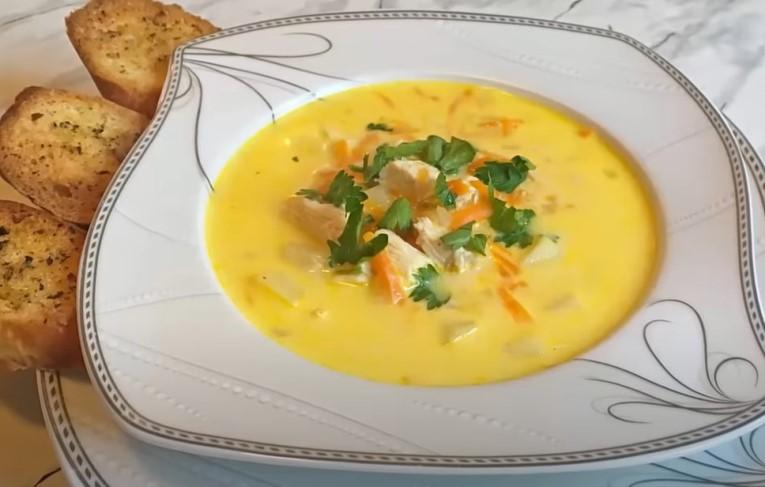Суп с плавленным сыром: 7 вкусных и простых рецептов